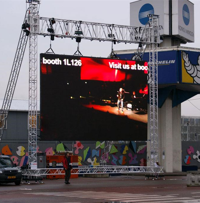 Hot sale p5.95 rental led screen outdoor